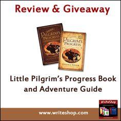 Review & Giveaway: Little Pilgrims Progress @writeshop