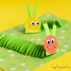 We are making another fun bug craft today! You can do a whole lot of things with paper circles, even 3D things like this paper caterpillar craft. Kids have this adorable fascination with punching paper so you just know you have a winner when they are required to punch a whole lot of paper circles …