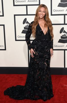 Beyoncé at the 57th Annual Grammy Awards.