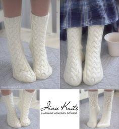 NEULEOHJEET Mittens, Socks, Fingerless Mitts, Gloves, Ankle Socks, Sock, Stockings, Hosiery