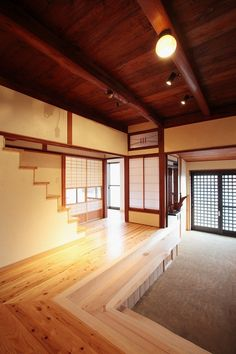 But whith a round door. Japanese Modern House, Traditional Japanese House, Japanese Home Decor, Japanese Interior, Japanese Design, Japanese Architecture, Interior Architecture, Home Renovation, My Dream Home