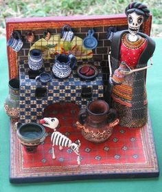 Jim & Carole's Mexico Adventure: Maestros de Arte: Lake Chapala's folk art fair