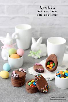 La tana del coniglio: Ovetti al cacao con sorpresa