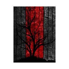 Smash Inc Modern Art Canvas Design #wallart #decor #modern #art #canvas https://www.teepublic.com/poster-and-art/1865507-tree-of-loniness