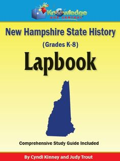 New Hampshire State History Lapbook - Knowledge Box Central |  | All Lapbooks | Government & History | State & Country StudyCurrClick
