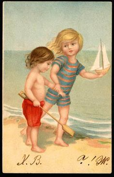 Russian postcard