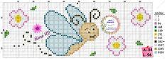 Cross Stitch Borders, Cross Stitch Designs, Cross Stitch Patterns, Graph Paper, Fuse Beads, Animal Design, Embroidery Stitches, Ladybug, Art Quotes