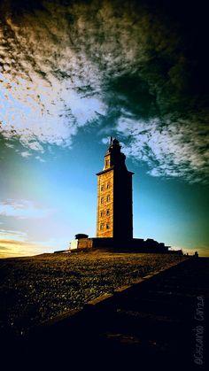 Torre de Hercules. A Coruña. Galiza. ⛵