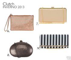 Bolsas para o Inverno 2013: Clutch