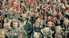 Liberation - Happy days in Oslo in May 1945.  I can't imagine what it must feel like to have your country liberated from Nazis.  My father knows.  He was just a boy then.