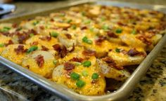 Cheesy Bacon Potato Bites | Food is my friend