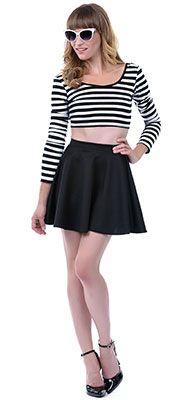 Shop Divergence Clothing http://divergenceclothing.com/  #skaterskirt