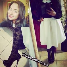 Had to do a closer shot cause them the hoes ain't loyal LetMeStyleYou - WardrobeDivas Black Belt, Closer, Skater Skirt, Ootd, My Style, Skirts, Shopping, Fashion, Moda