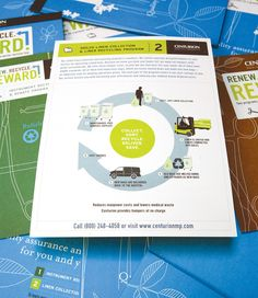 Beautiful brochure design courtesy of Octane Design in Royal Oak, MI Company Brochure, Brochure Design, Layout Design, Design Art, Mood And Tone, Print Finishes, Composition Design, Recycling Programs, Catalog Design