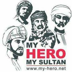Sultan Oman, Oman National Day, Sultan Qaboos, Geometric Lion, Silhouette Art, Art Sketchbook, Baby Cards, King, Flower