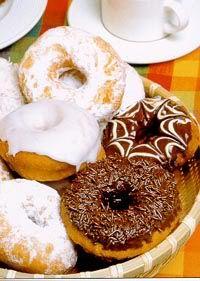Receita de Donuts moleque - Biscoitos