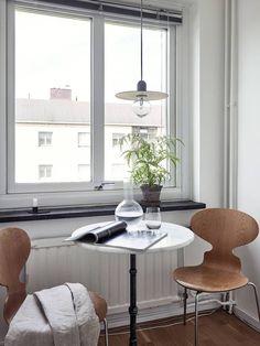 Small studio with a neutral decor - COCO LAPINE DESIGNCOCO LAPINE DESIGN