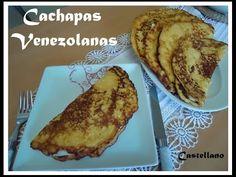 Cachapas Venezolanas receta fácil