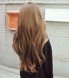 gorgeous caramel blonde