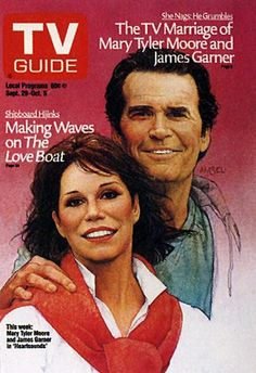 Mary Tyler Moore and James Garner