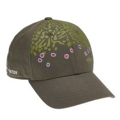 3494efa1 Brook Trout Skin Full Cloth Hat Trout, Fly Fishing, Tees, Cotton, Products