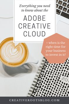 Find out everything you need to know about the Adobe Creative Cloud before you take the leap and invest in this program for your business! Business Design, Creative Business, Business Tips, Online Business, Entrepreneur, Photoshop Tutorial, Adobe Photoshop, Creative Suite, Christmas Gifts For Women