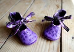 Purple Mary janes - Eco leather slippers by Madkouch - www.madkouch.com