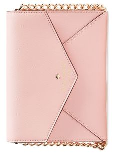 How fabulous is it that this darling Kate Spade crossbody bag can also be worn as a clutch? Adore!