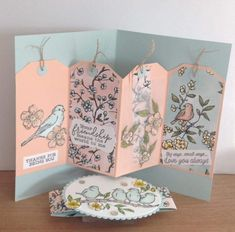 Fancy Fold Cards, Folded Cards, Stampin Up, Screen Cards, Bee Cards, Interactive Cards, Stamping Up Cards, Animal Cards, Cards For Friends