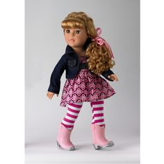 Alexander Doll Too Cute In Boots Friends Doll