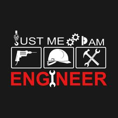 Check out this awesome 'I+Am+Engineer+t-shirt' design on Bridge Engineering, Engineering Quotes, Civil Engineering, Wrestling Quotes, Funny Jobs, Engineer Shirt, Workplace Safety, Mechanical Design, Technology Design