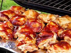 Маринованная курица барбекю по‑азиатски