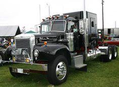 Vintage 1960s Mack Truck..