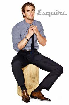 Chris Hemsworth Photos - Chris Hemsworth Exclusive Photos - Esquire