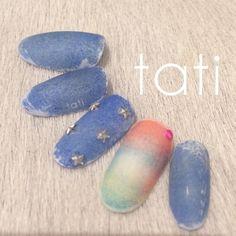 Japan Nail, Nail Pops, Japanese Nail Art, Nail Art Diy, Beautiful Nail Art, Gel Nails, Nail Designs, Instagram Posts, Art Director