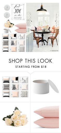 """Decor Joy ...."" by loveartrecyclekardstock ❤ liked on Polyvore featuring interior, interiors, interior design, home, home decor, interior decorating, Menu and Sparrow & Wren"