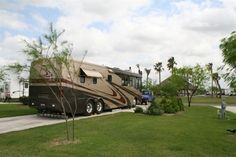 Bentsen Palm Village RV Resort in Mission, Texas - One of the most unique RV Resorts in South Texas. Only minutes away from shopping and wonderful recreation options. Be it full hookups, cabins or pull-thru sites, this is one camping destination you don't want to miss!