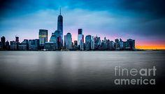 NY City Skyline at Dawn