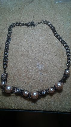 Check out this item in my Etsy shop https://www.etsy.com/listing/600304143/chain-necklace