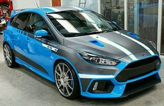 Ford focus rs wrap