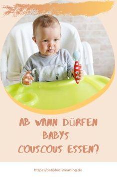 Ab wann dürfen Babys Couscous essen? | Babyled Weaning
