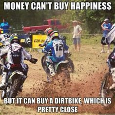 Yup pretty much sums it all! 2017 RMZ250 now at www.langstonmotorsports.com