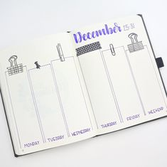 "3,576 Likes, 21 Comments - Renee Day (@thediyday) on Instagram: ""See my last post for the process video. . Here's my last bullet journal for 2017. I had to end the…"""