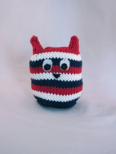 Hey, I found this really awesome Etsy listing at https://www.etsy.com/listing/98611986/patriotic-striped-handknit-stuffed-owl