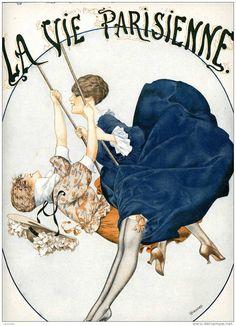LA VIE PARISIENNE on Pinterest | 1920s, Magazine Art and Mermaid ...