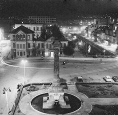 اضواء شوارع الشام خمسينيات القرن الماضي.