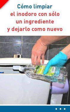 Cómo limpiar el inodoro con sólo un ingrediente y dejarlo como nuevo