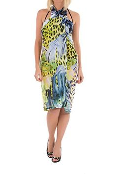 Just Cavalli Italian Women Pareo & CoverUp, mesmerizing and beautiful guarantees a spectacular beach look. The allaround pareo comes in one size and can individ...