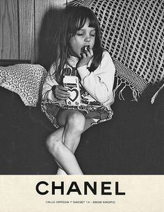 girly chanel ad