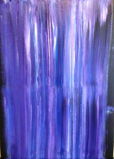 Blue Waterfall wall art or decor office or home by CynthiaToddArt, $125.00